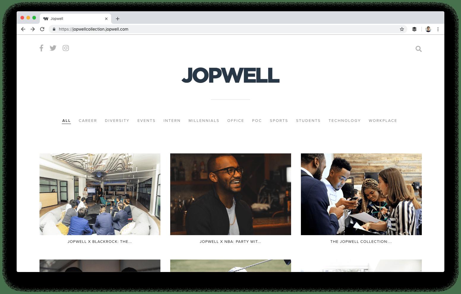 La colección Jopwell