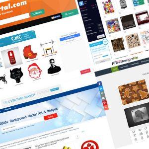 sitios para encontrar vectores gratis