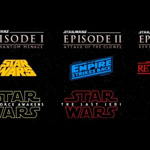 starwars evolución de sus logos