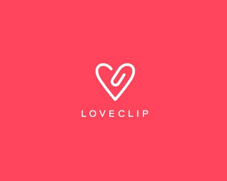 logotipos de diseñadores, Loveclip
