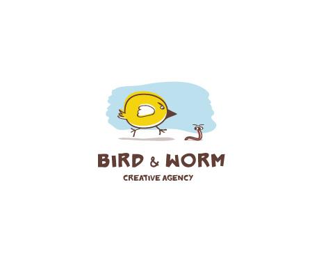 Agencia creativa de aves y gusanos