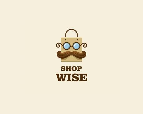logotipos de diseñadores, Tienda Wise Logo