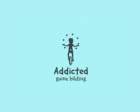 logotipos de diseñadores, Adicto - juego bilding