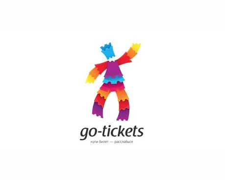 logotipos de diseñadores, Go-tickets