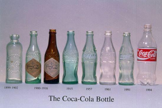 botellas de coca cocacola