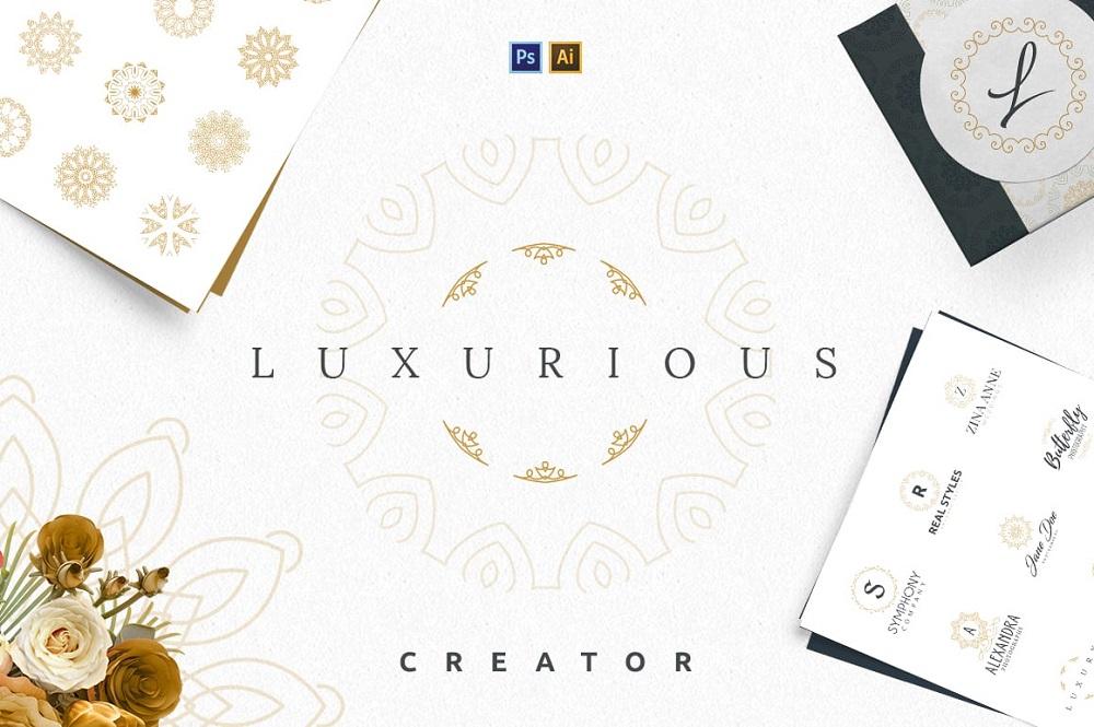 Creador de logos de lujo