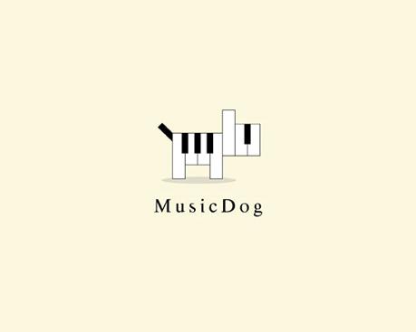 Perro de musica