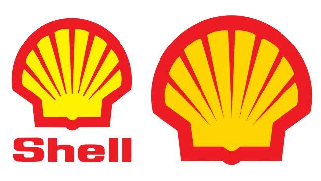 Famosos logos sin texto: Shell íconos famosos