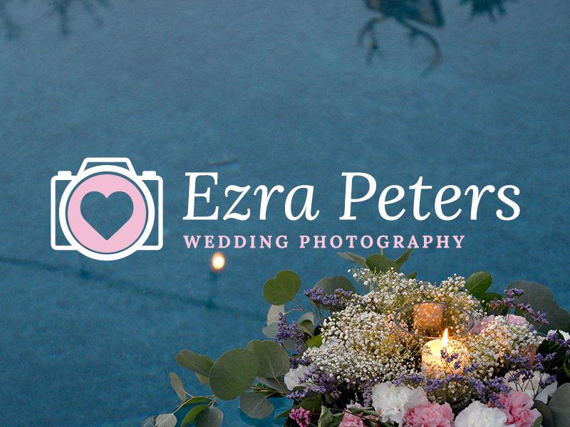 Logotipo de fotografía de boda
