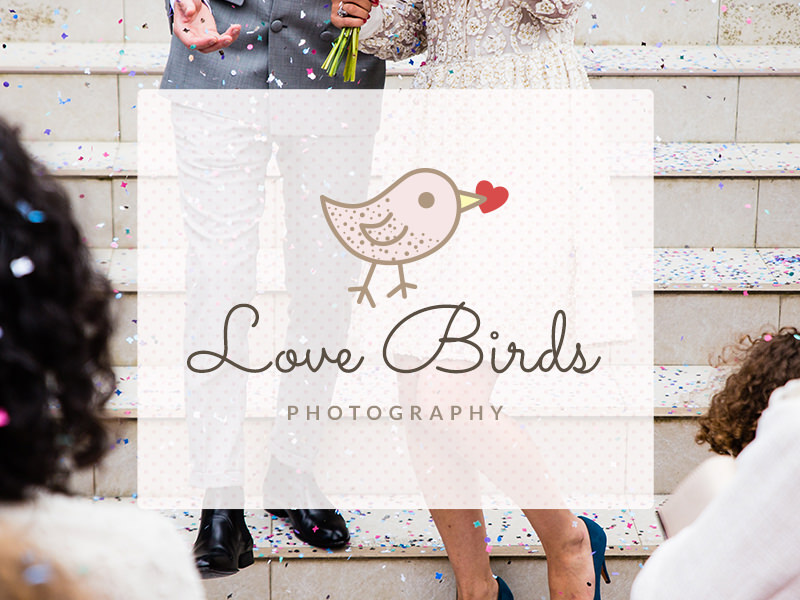 Logo de love bird