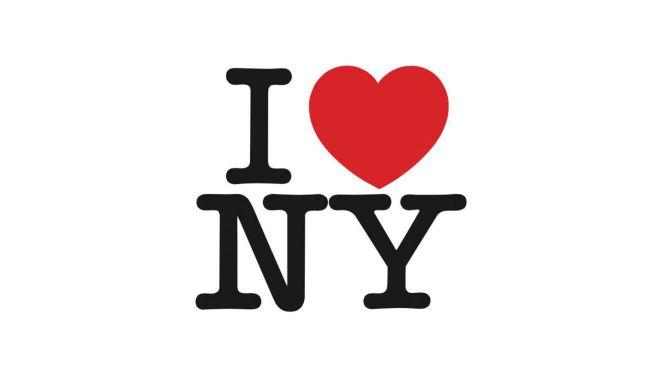 Los mejores logos de todos los tiempos:  Me encanta el logo de Nueva York