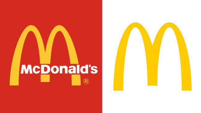 Famosos logos sin texto:  Macdonal´s íconos famosos