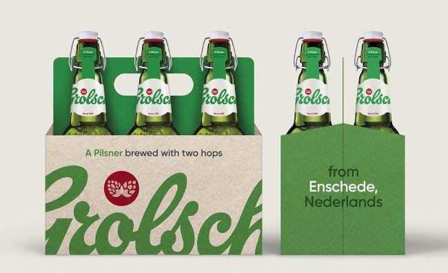 Rediseño de Cerveza Grolsch - Ahora es de diseño clásico