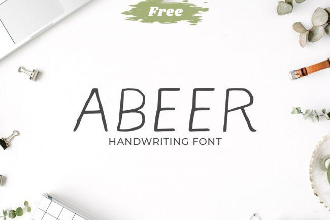 Grandes tipos de letra caligráficas