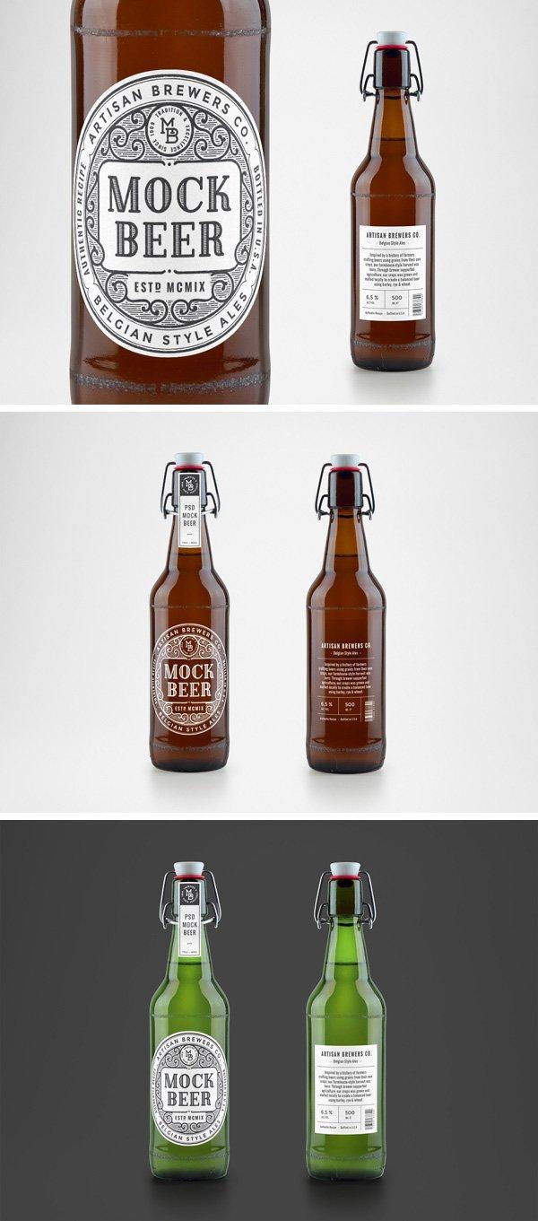 Maqueta de cerveza artesanal
