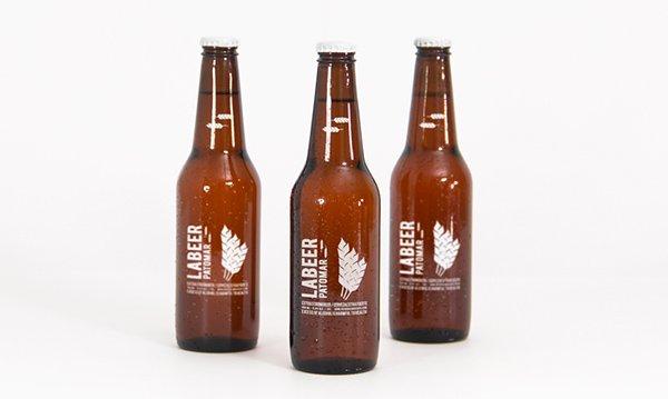 mockups de empaques, Plantilla PSD Botellas De Cerveza