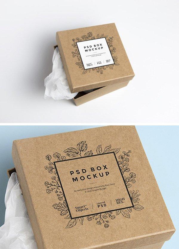Caja de Carton PSD