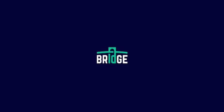 Logos mínimos creativos para la inspiración del diseño - Bridge LLC