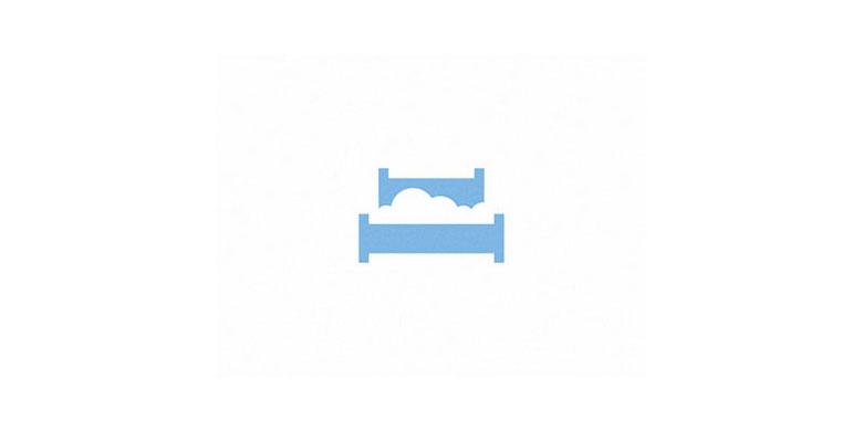 Logos mínimos creativos para la inspiración del diseño - Cloud Bed