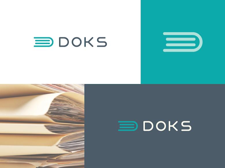 Logos mínimos creativos para la inspiración del diseño - Doks