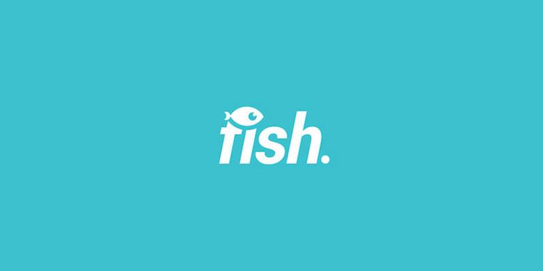 Logos mínimos creativos para la inspiración del diseño - Pescado