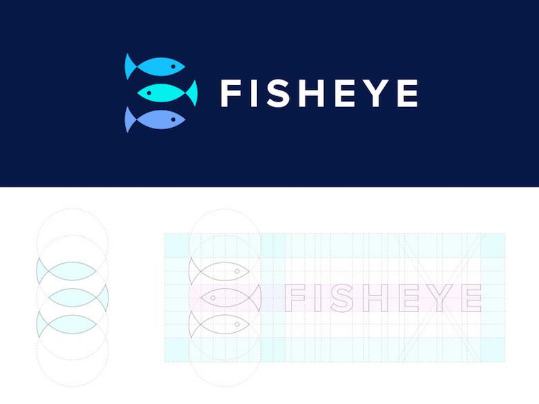 Logotipos minimalistas creativos para la inspiración del diseño - Fisheye Media