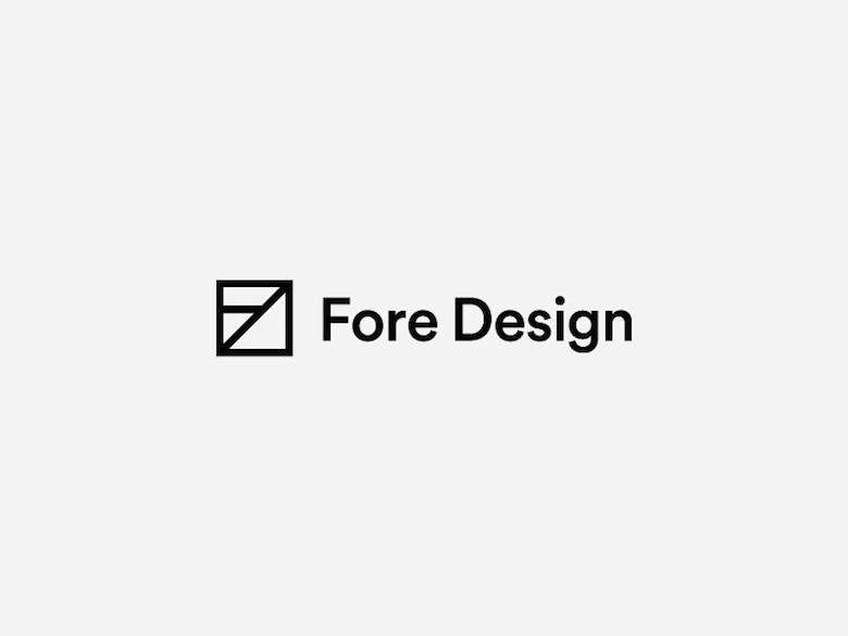 Logotipos mínimos creativos para la inspiración del diseño - Fore Design