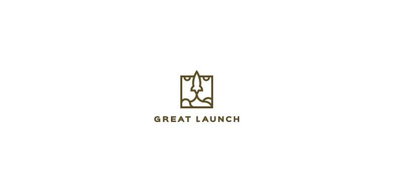 Logos mínimos creativos para la inspiración del diseño - Gran lanzamiento
