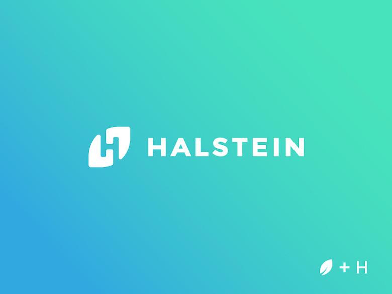 Logos minimalistas creativos para la inspiración del diseño - Halstein
