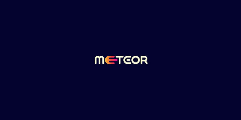Logos minimalistas creativos para la inspiración del diseño - Meteor