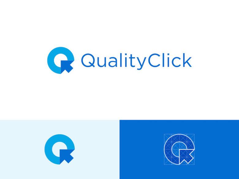 Logotipos mínimos creativos para la inspiración del diseño - QualityClick