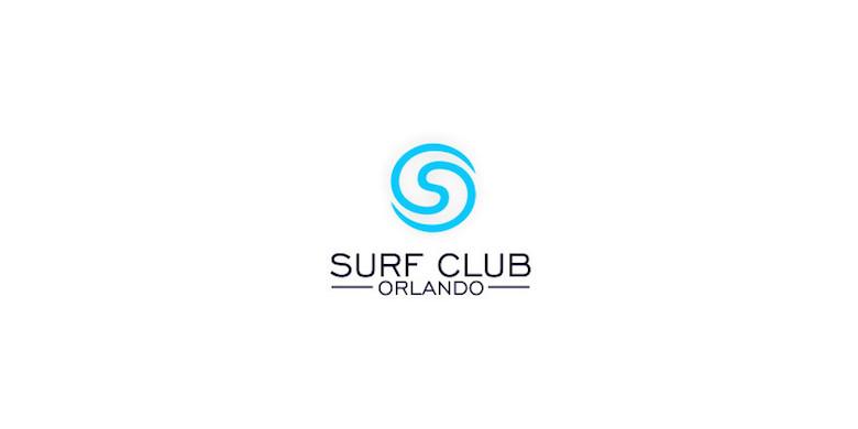 Logotipos mínimos creativos para la inspiración del diseño - Surf Club Orlando
