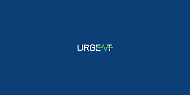 Logotipos mínimos creativos para la inspiración del diseño - Urgente