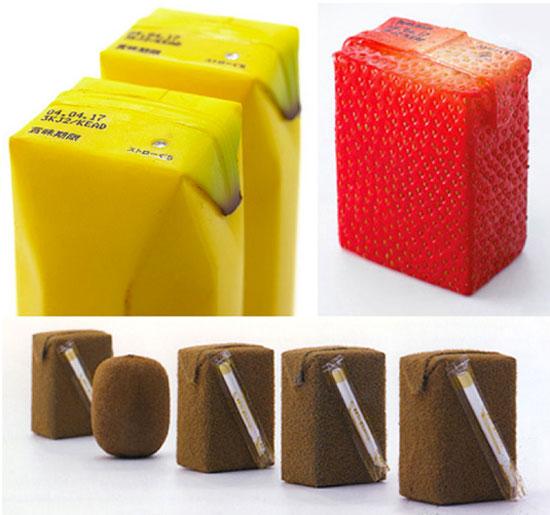 Diseño de  cajas para comida