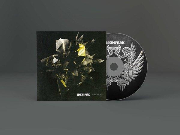 Maqueta de ilustraciones de CD