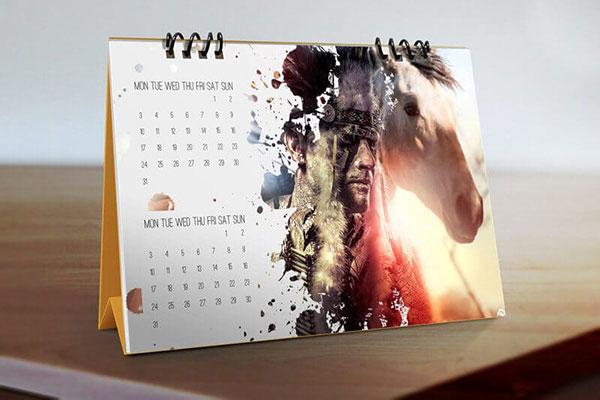 Escritorio-Calendario-Maquetas