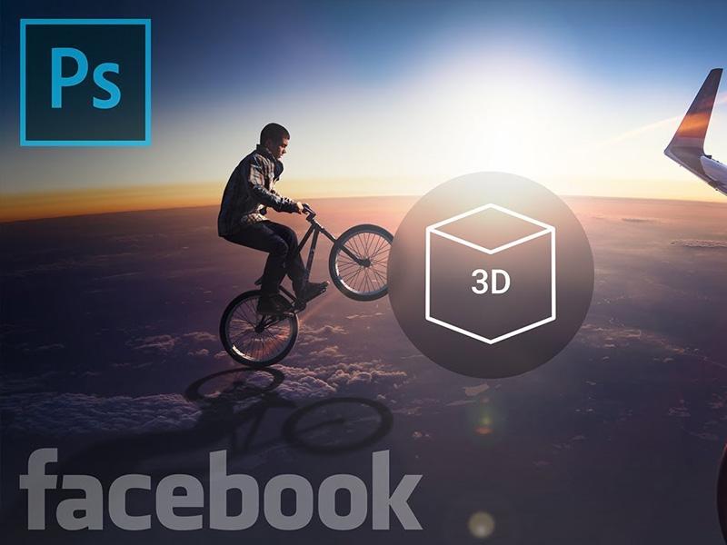 tutorial facebook 3d