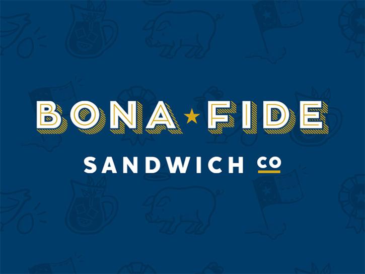 Logotipos de Alimentos, logo de sándwich de buena fe