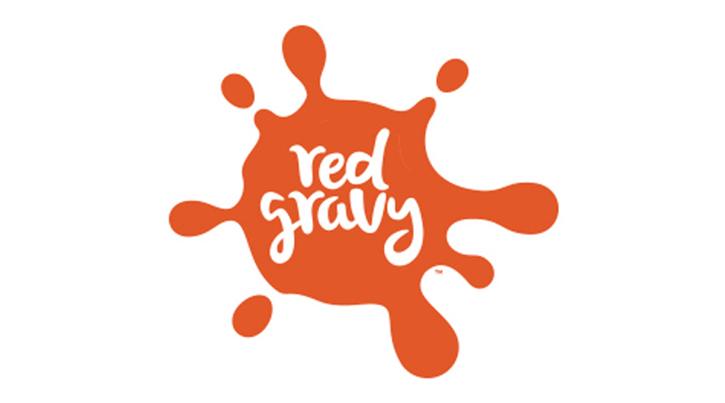 logotipo de salsa roja