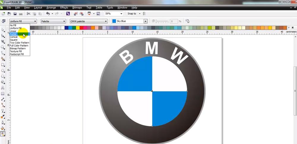 diseño de logotipo bmw