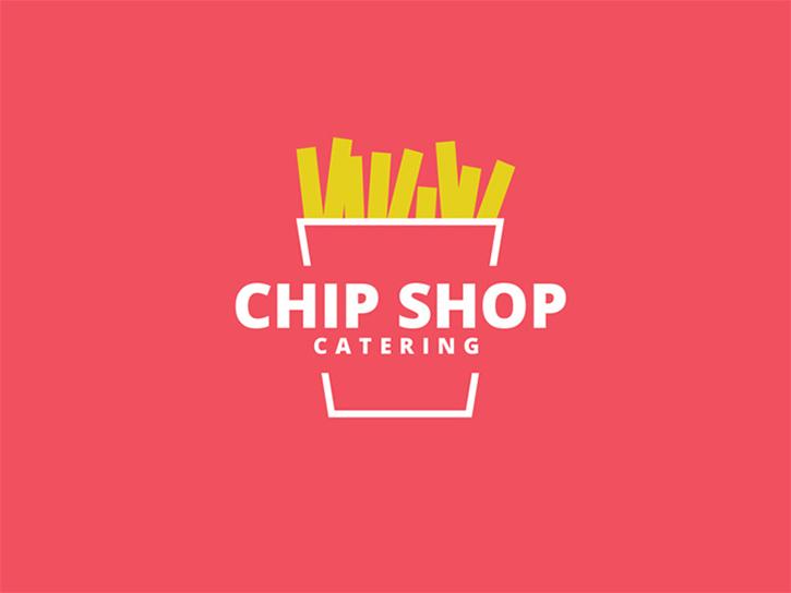 Mejores Logos de comida: logotipo de la tienda de chips