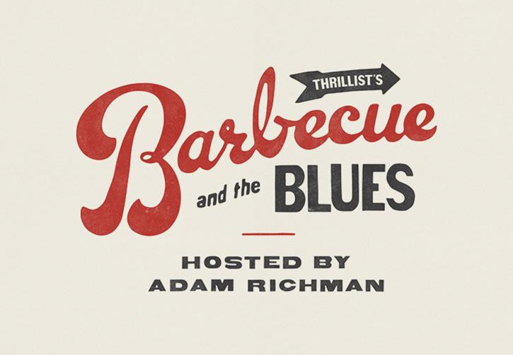 Mejores Logos de comida: barbacoa y el logo de blues