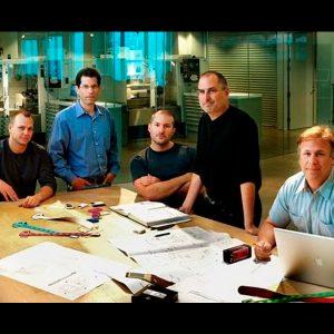 equipo de diseño apple