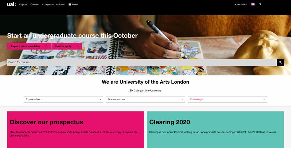 Universidad de las Artes, Londres (UAL)
