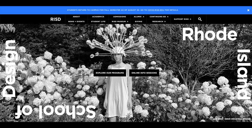 Mejores escuelas para estudiar diseño: Escuela de Diseño de Rhode Island (RISD)