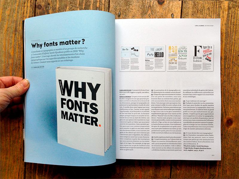 Libros esenciales de diseño gráfico, Por que las fuentes son importantes