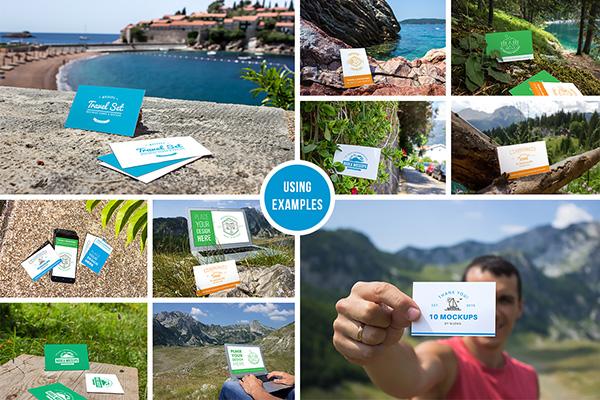 10 tarjetas de visita frescas maquetas vol.1