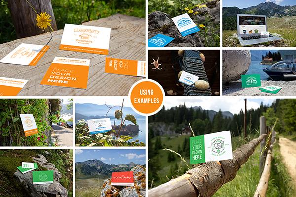 10 tarjetas de visita frescas maquetas vol.2