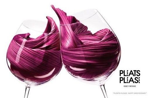 tendencias de diseño gráfico, Textil vino