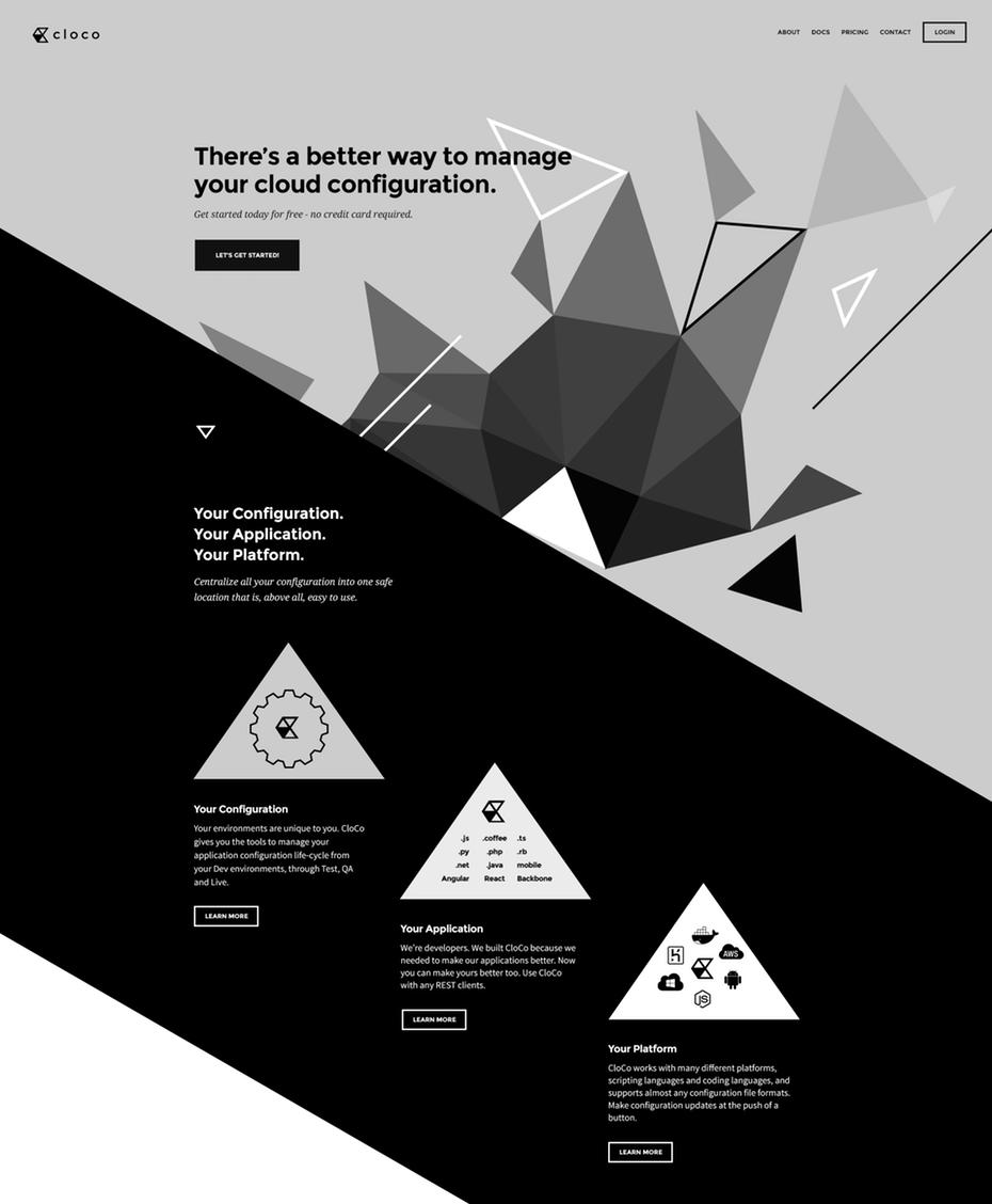 tendencias de diseño gráfico, Diseño web deconstruido